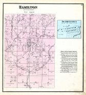 Hamilton and Diamondtown, Jackson County 1875